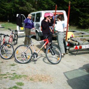 Mountainbike/ Radverleih